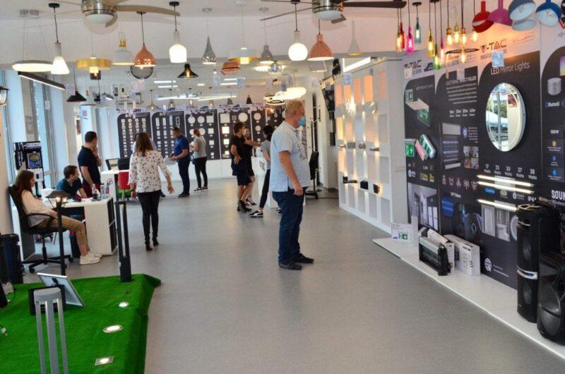 bec LED showroom VSH-vtacsmarthome